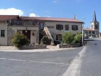 Le restaurant et l'église