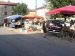 Au marché du samedi